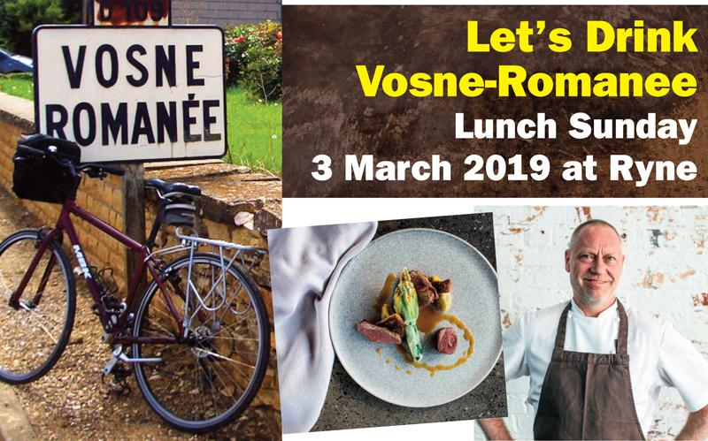Vosne lunch Ryne March 2019 header