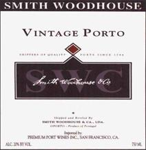 Smith-Woodhouse Port Label