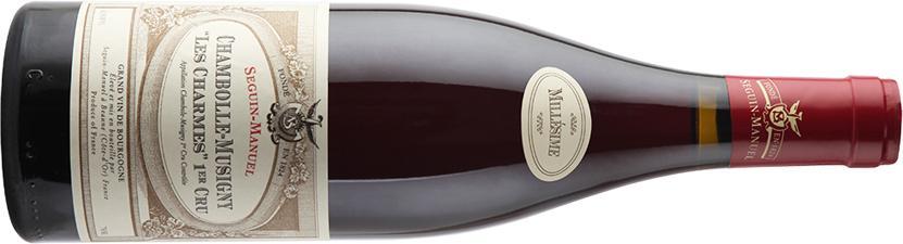 Seguin-Manuel Chambolle Charmes bottle