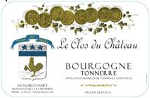 Dampt Bourgogne Chateau NV label