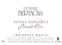 Bertagna Beaux Monts Label