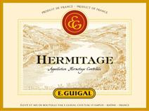 Guigal Hermitage label