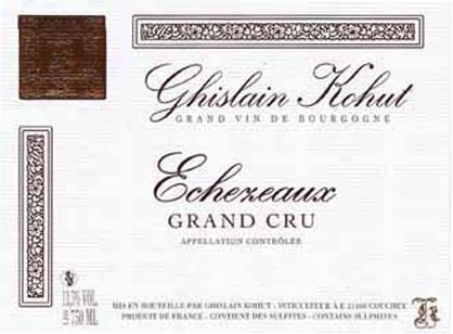 Kohut Echezeaux Label