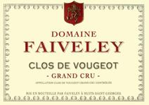 Faiveley Clos Vougeot label
