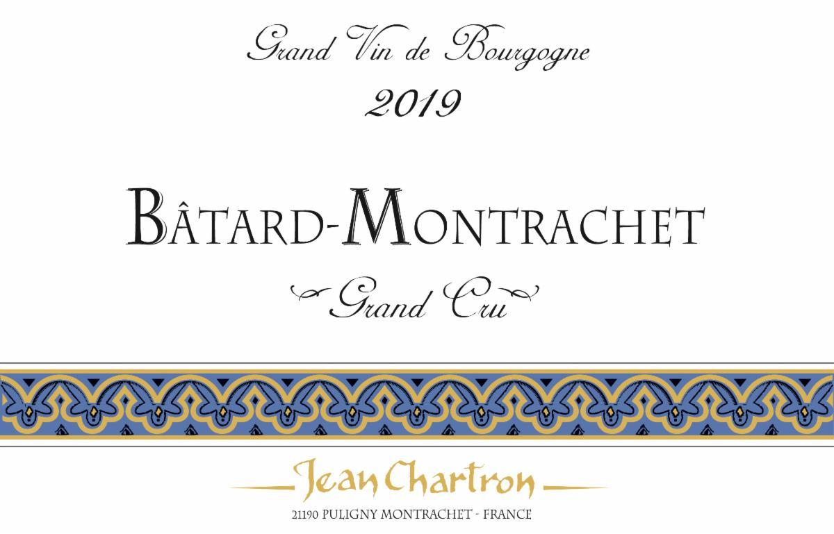 Chartron Batard 2019 label