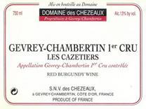 Chezeaux Cazetiers Label