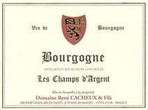 Cacheux Rene Bourgogne label