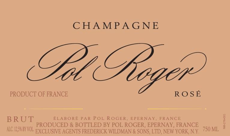 Pol Roger Rose label hi