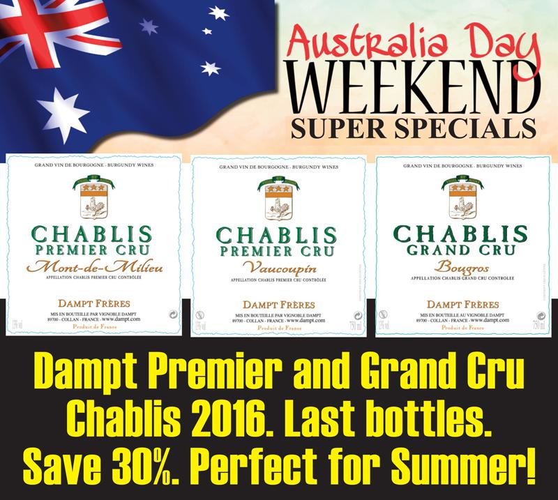 Dampt Chablis 2016 Australia Day Header