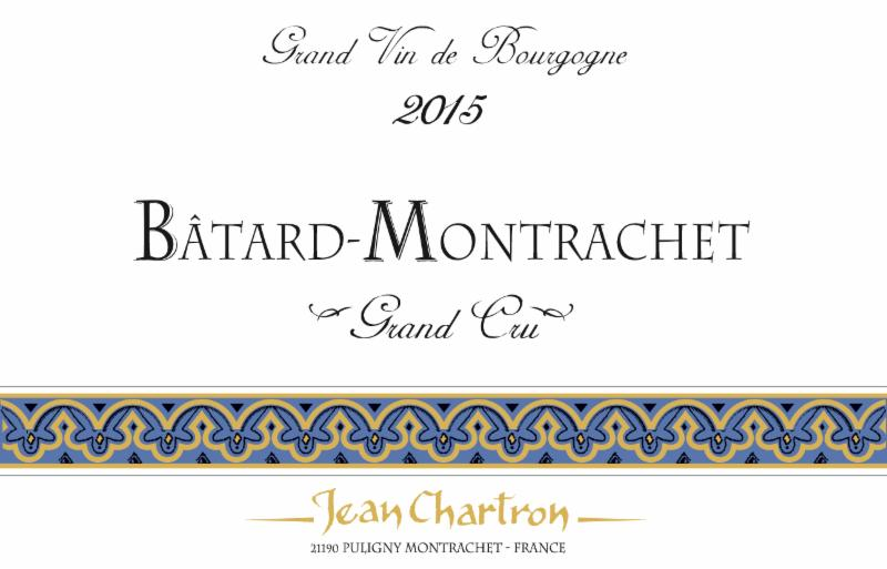 Chartron Batard 2015 label
