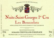 Chevillon-Chezeaux Bousselots label