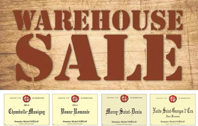 Noellat warehouse sale header