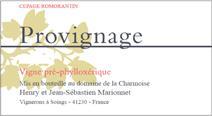 Marionnet Provignage label NV