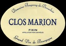 Fougeray marion nv label