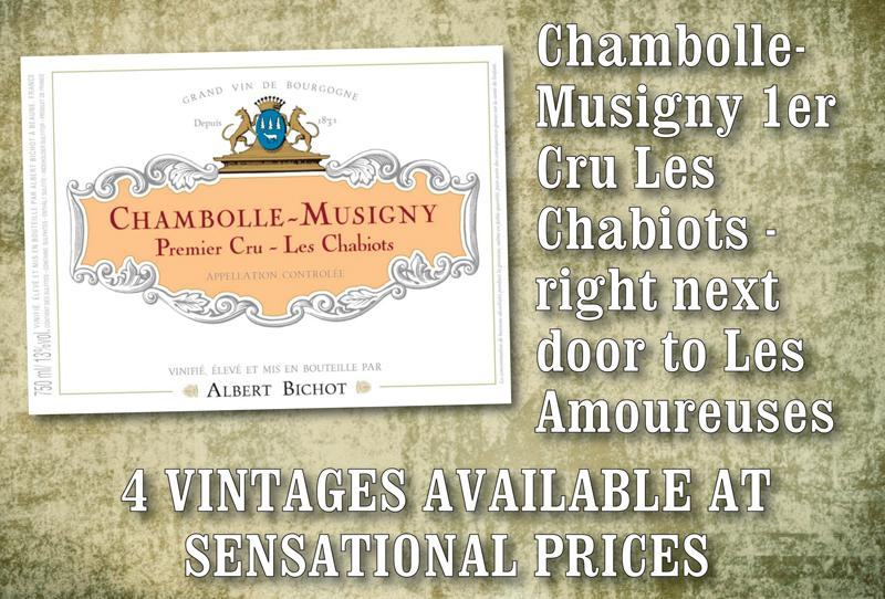 Bichot Chabiots 4 Vintages header