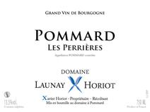 Launay-Horiot Perrieres Label