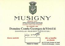 Vogue Musigny Label