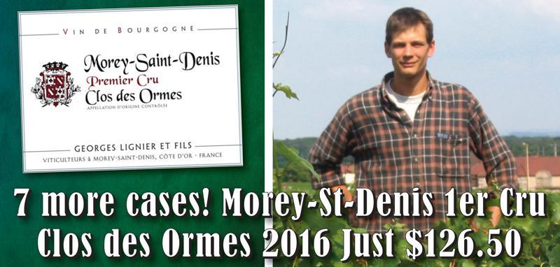 Lignier Ormes 2016 7 cases header