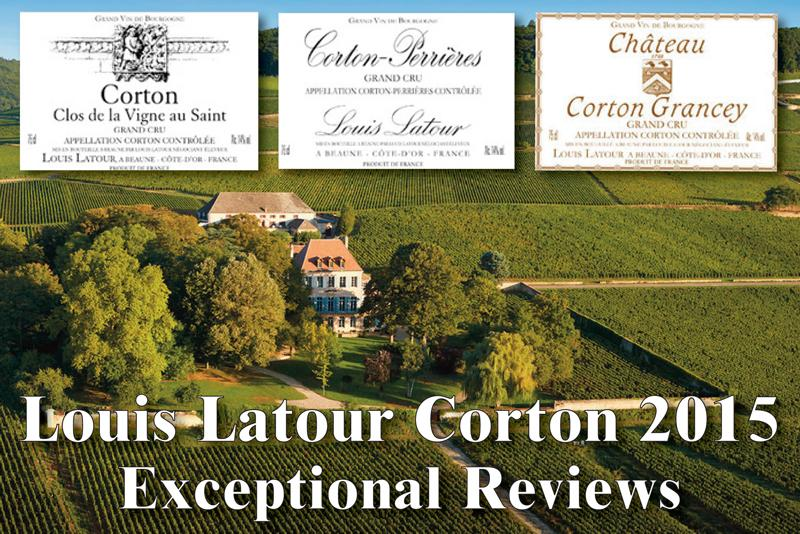 Louis Latour Corton 2015 Exceptional Header