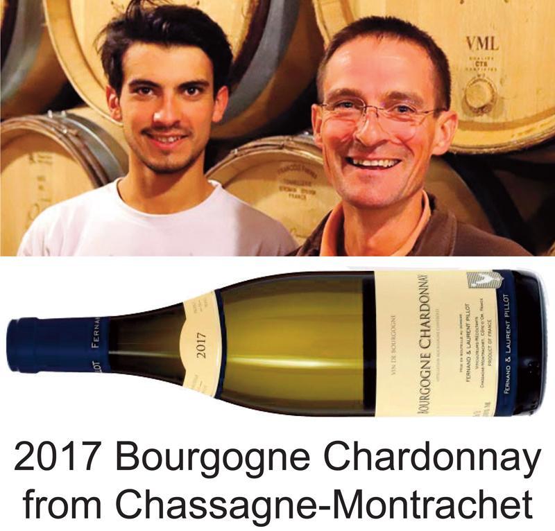 Pillot Bourgogne Chardonnay 2017 header
