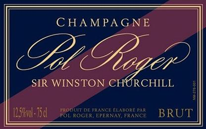 Pol Roger Winston higher