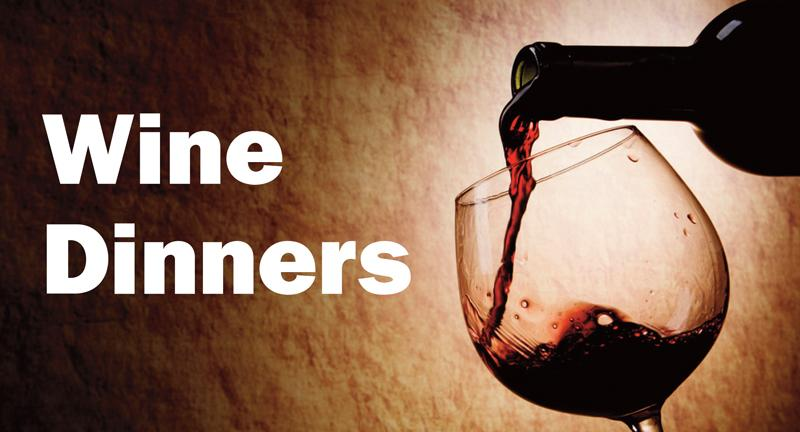 Wine Dinners Header