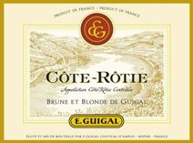 Guigal Cote Rotie Brune Blonde label