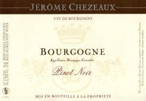Chezeaux Bourgogne label