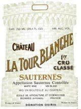 La Tour Blanche label