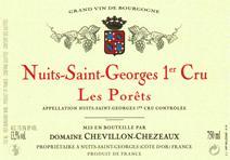 Chevillon-Chezeaux NSG Porets label 2