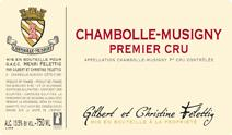 Felettig Chambolle Premier Cru label