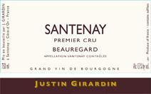 Girardin Beauregard label