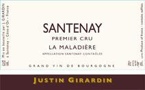 Girardin Maladieres label