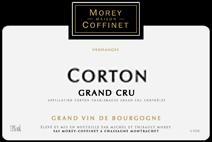 Morey-Coffinet Corton label