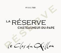 Caillou Reserve NV label