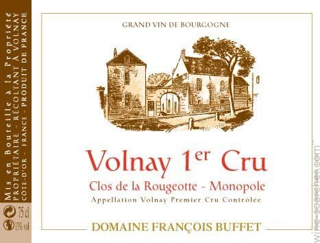 Buffet Rougeotte label