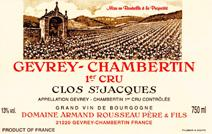 rOUSSEAU cLOS sT-jACQUES LABEL