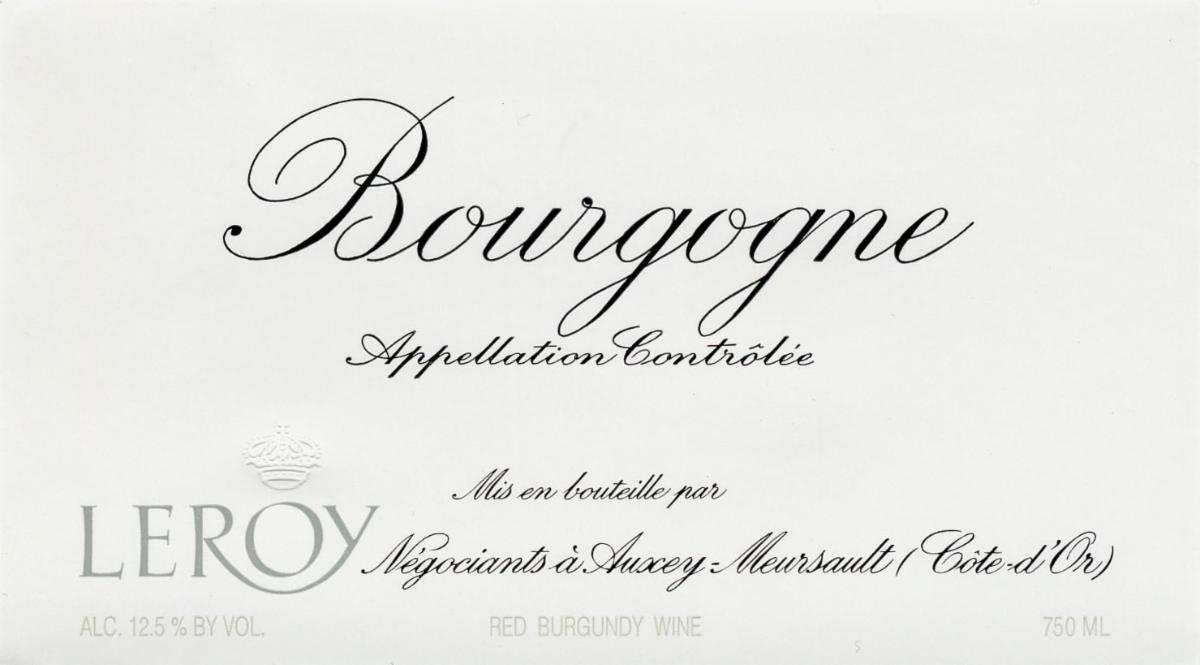 Leroy Bourgogne label hi