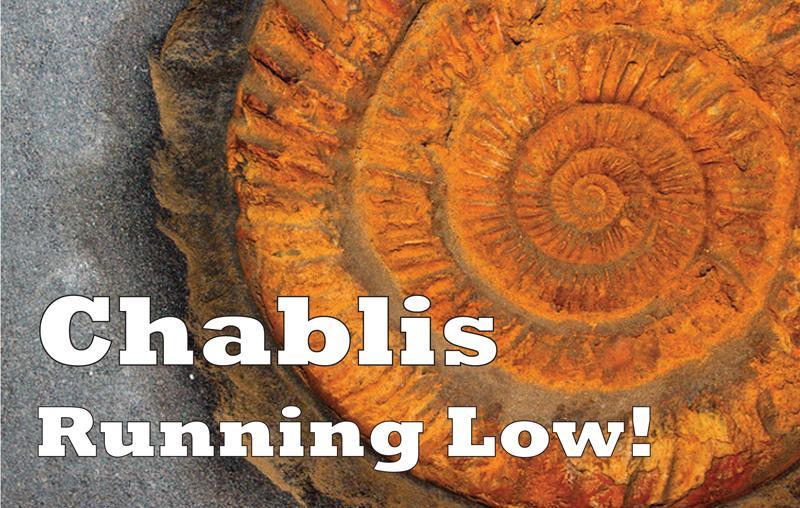 Chablis running low header