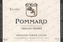 COche Pommard VV label