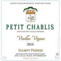 Dampt petit Chablis VV label