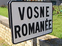 Vosne-Romanee Sign 2