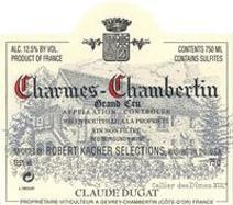 Dugat Charmes label