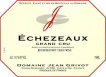 Grivot Echezeaux label