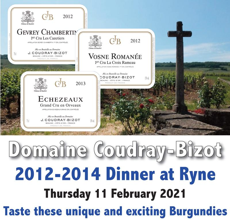 Coudray-Bizot Dinner Ryne Header