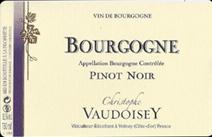 Vaudoisey Bourgogne label