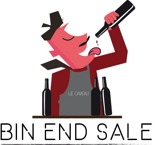 Bin End Sale Man