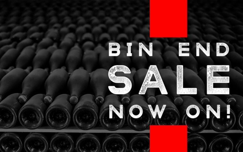 Bin Ends Sale Now On