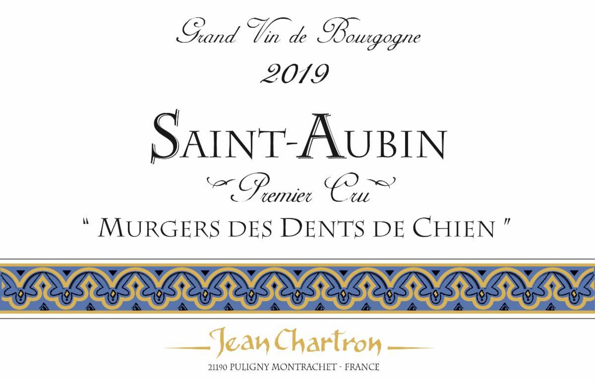Chartron Dent de Chien 2019 label