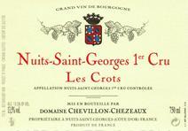 Chevillon-Chezeaux NSG Crots label